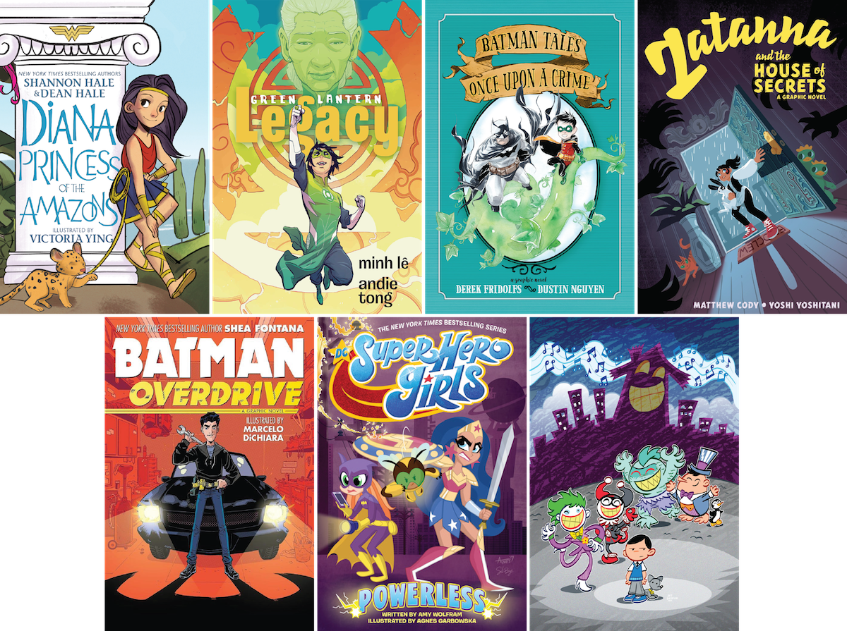 Dc Comics Graphic Novels For Young Readers And Teens The Novel Hermit
