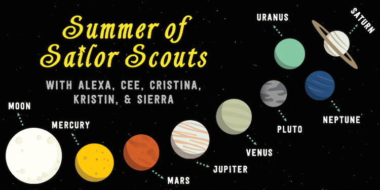 Summer of Sailor Scouts